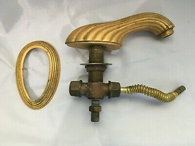 PHYLRICH Antiqued Gold on Solid Brass Faucet & Cover 2 lb 11oz   No Drain Rod