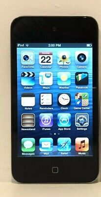 Apple iPod Touch 4th Generation 8GB - Black - Good Condition