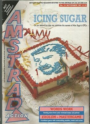 Amstrad Action - Issue 24 - September 1987 - Magazine