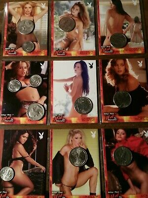 Playboy trading cards way to hot to handle 9 card lot 2 2019