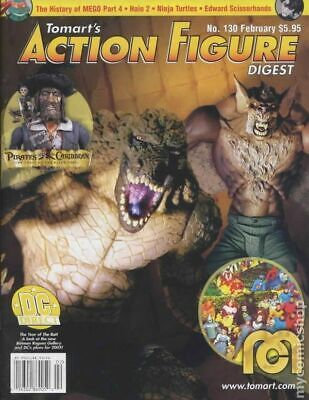 Tomart's Action Figure Digest #130 FN 2005 Stock Image