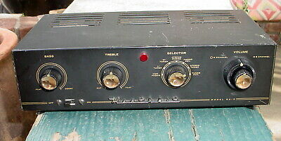 Heathkit SA-3 Stereo Tube Amplifier 6BQ5 7199 6CA4 Tubes Works