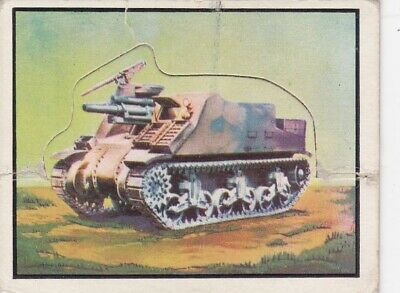1950 Topps Freedom's War Short Printed Die-Cut Tank Card #97