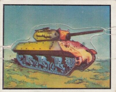 1950 Topps Freedom's War Short Printed Die-Cut Tank Card #98