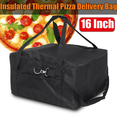 42x42x23cm 16 Inch Food Pizza Takeaway Restaurant Delivery Bag Thermal Insulated