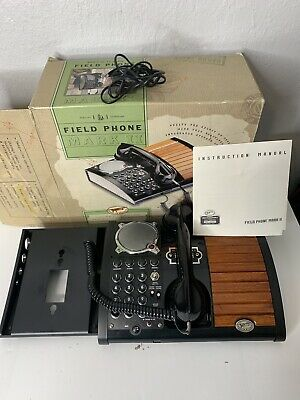 Vintage Spirit Of St. Louis S.o.s.l. Field Mark 2 Telephone Hands Free Speaker
