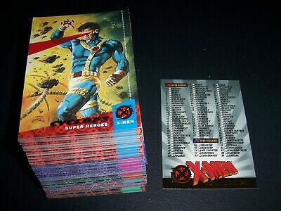 1994 Marvel Fleer Ultra Xmen Comic card base set near complete missing 3 cards