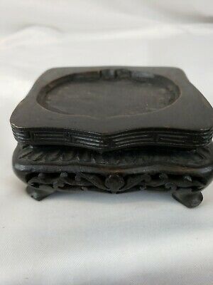 Great vintage chinese carved wood box