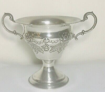 Rare King George V English sterling solid silver chalice,London, hallmarked 1925