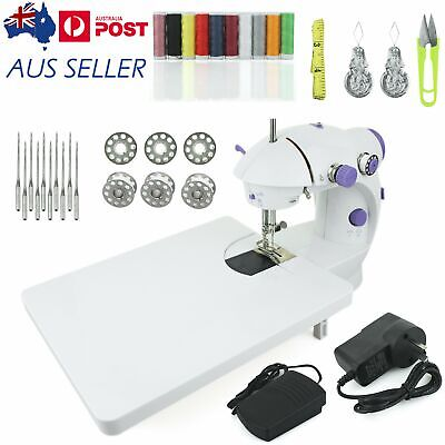 Electric Operated Multi Function Portable Mini Sewing Machine Stitch with Table