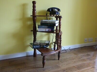 Vintage mahogany French Victorian style spiral library steps