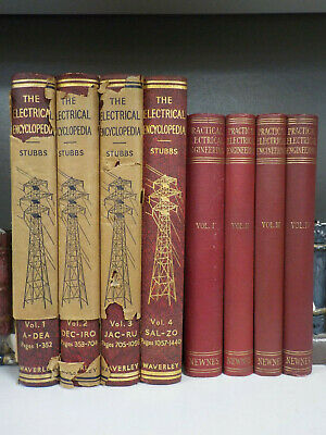 The Electrical Encyclopedia, Practical Engineering - 8 Books (ID:5951)