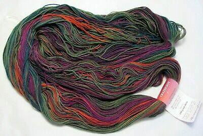425 yds! Mountain Colors CRAZYFOOT Hand Dyed SW Merino Wool Sock Yrn Hummingbird