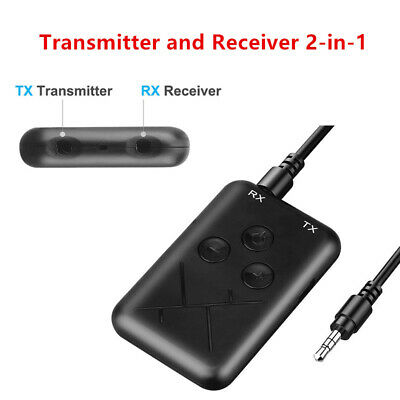 Universal 2in1 Wireless Bluetooth Transmitter Receiver Stereo AUX Music Adapter