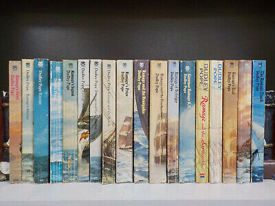 Dudley Pope - Ramage - 18 Books Collection! (ID:5975)