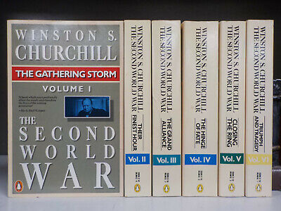 Winston S. Churchill - The Second World War - FULL SET of 6 Books (ID:5976)