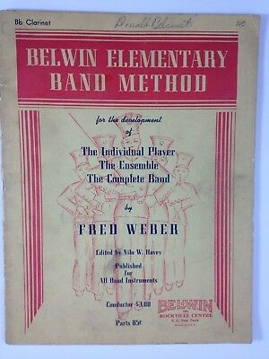 Belwin Elementary Band Method ~ Individual, Ensamble or Complete band