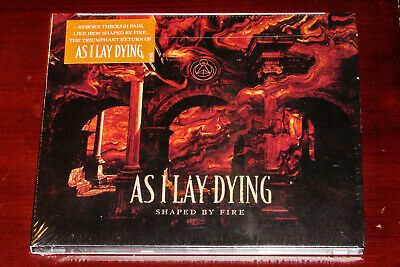 As I Lay Dying: Shaped By Fire CD 2019 Nuclear Blast Records USA Digipak NEW