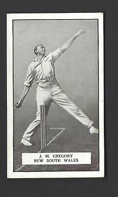 Gallaher - Famous Cricketers - #97 J M Gregory, New South Wales