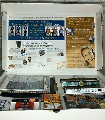 Michael Thurmond Six Week Body Makeover Weight Loss Kit VHS & Cassette Tapes