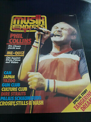 Musik Express 12/1982 Can,Japan,Dire Straits,Tangerine Dream,Phil Lynott,H.Brood