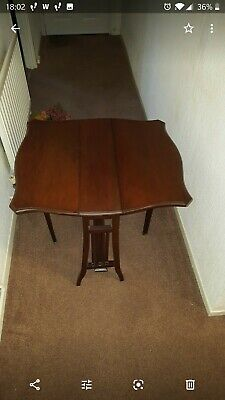 Antique Small Sutherland Table, Coffee Table, 19Th Century