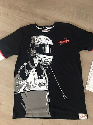 Lewis Hamilton M&S Living The Dream Mock Layer T Shirt. 15/16 Years.