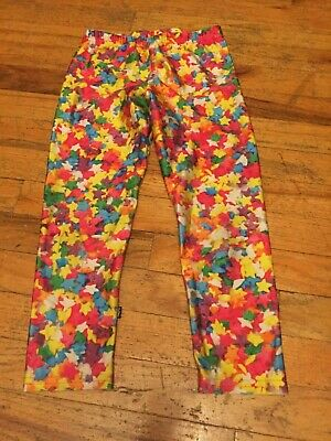 Zara Terez Girls Size Large Adorable Stars Capri Leggings