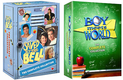 Boy Meets World & Saved By The Bell Collections Complete Series Brand NEW 2 Sets