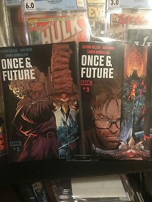 ❌ONCE AND FUTURE  #2 & 3 Cover A 1st print BOOM! STUDIOS 2019 NM+🔥