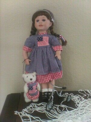 Heritage Signature Collection Star Spangle Susie Doll. #12366