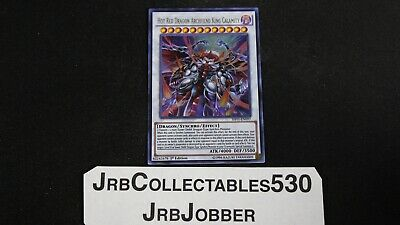 YUGIOH! HOT RED DRAGON ARCHFIEND KING CALAMITY SHVI-EN097 ULTRA 1st