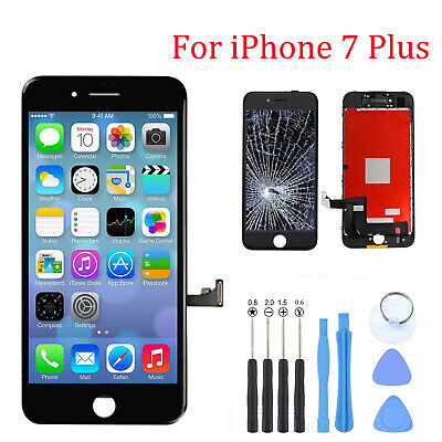 For iPhone 7Plus 7 Plus Black LCD Display LCD Touch Screen Digitizer Replacement