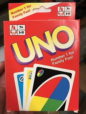 UK  UNO card Game with CARDS Great Family Fun UK SELLER