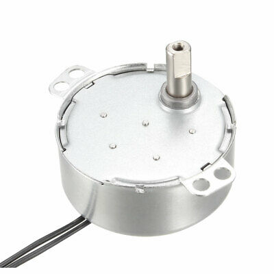 Synchronous Motor Turntable Synchron Motor 220-240 VAC 50/60Hz 4W CW 2-2.4RPM