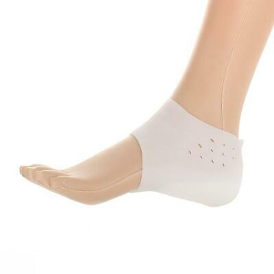 1Pair Unisex Invisible Height Lift Heel Pad Sock Liners Increase Shoe Gel Insole
