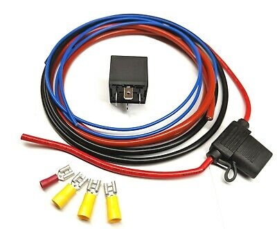 Wiring Kit for Aftermarket  Fuel Pump or Cooling Fan with Relay M