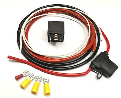Wiring Kit for Aftermarket  Fuel Pump or Cooling Fan with Relay Kit013