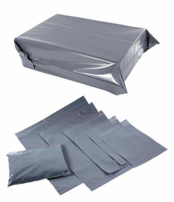Cheap Grey Mailing Bags Strong Poly Postal Postage Post Mail Self Seal All Sizes