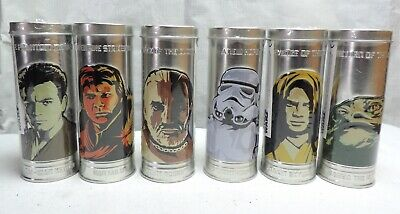 Burger King 2005 Star Wars Watch Set of 6 in Tin Case NEW Sealed
