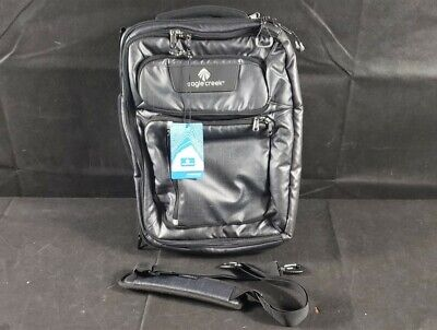 "Eagle Creek Convertabrief Fits Up To 17"" Laptop Bag - Asphalt Black"