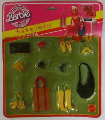 1982 Barbie Finishing Touches Accessories - Shoes and Bags
