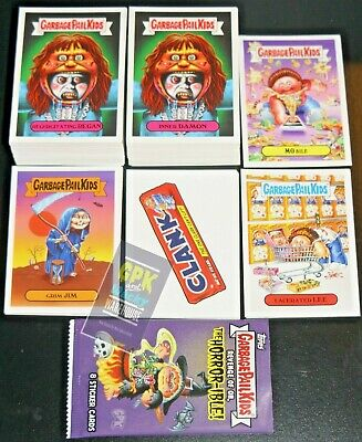 2019 Garbage Pail Kids Revenge Of Oh The Horror-Ible 241 Card Master Set W Promo