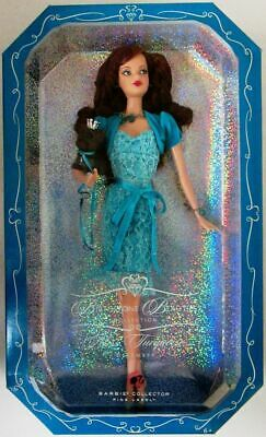 Miss Turquoise, December Barbie Doll (Birthstone Beauties Collection) (New)