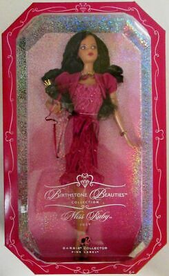 Miss Ruby, July African American Barbie Doll (Birthstone Beauties Collection) ..