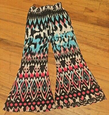 So Nikki Little Girls Size 5 Adorable Colorful Wide Bottom Lounge Pants
