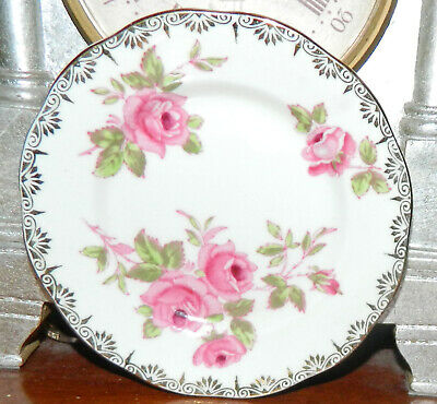 VINTAGE 1940s Salisbury DIJON pattern 1633 Fine Bone China Made in England Plate