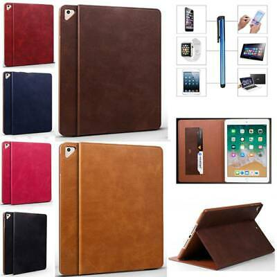 """For Apple iPad 9.7"""" 5th 6th Gen 2017 2018 Smart Slim Leather Stand Case Cover"""