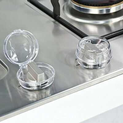 1pc Stove Knob Cover Protector Transparent Controls Protector Oven Control Knobs
