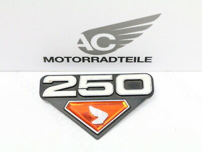 Honda CB 250 K4 B4 Emblem Seitendeckel rechts original right side cover Genuine